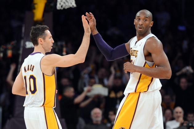 Nash and Kobe Active Tonight vs. Kings