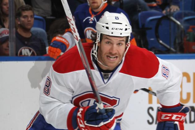 Prust Returns from Shoulder Injury Tonight, Kaberle on Waivers