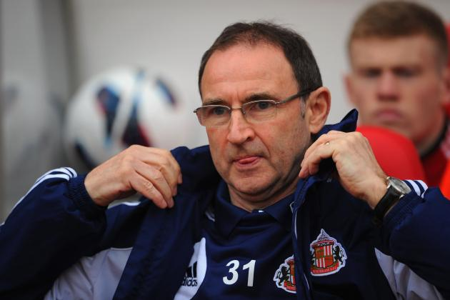 Sunderland Parts Ways with O'Neill