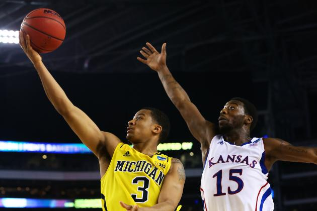 Trey Burke's Performance Against Kansas Will Make Him a Top-10 Pick