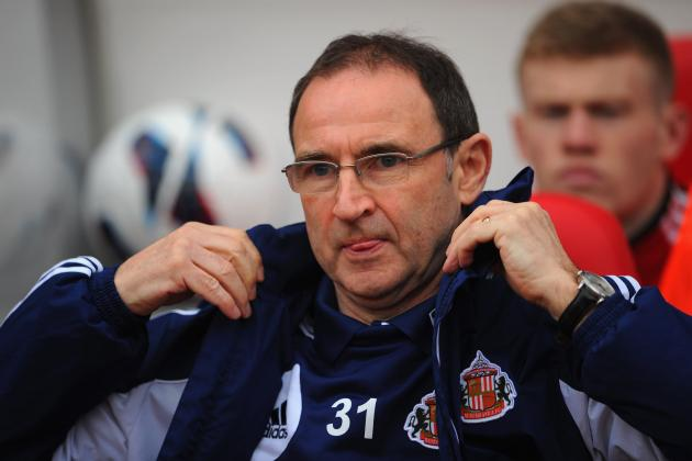 Sunderland Parts Ways with Manager Martin O'Neill