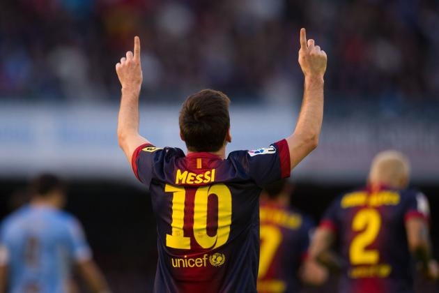 Lionel Messi Becomes 1st Player to Score vs All La Liga Opponents in a Row