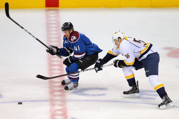 Barrie Scores in Overtime as Avalanche Beat Predators