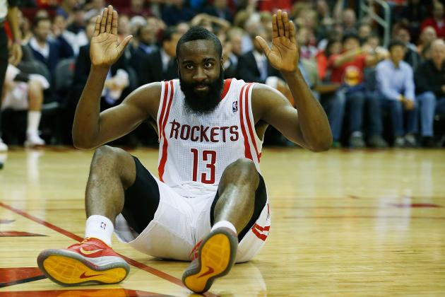 James Harden Injury: Updates on Rockets Star's Foot