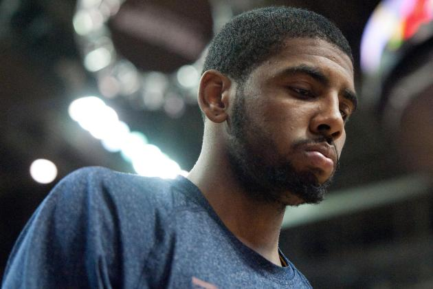 Kyrie Practices; Teammate Alludes to His Return