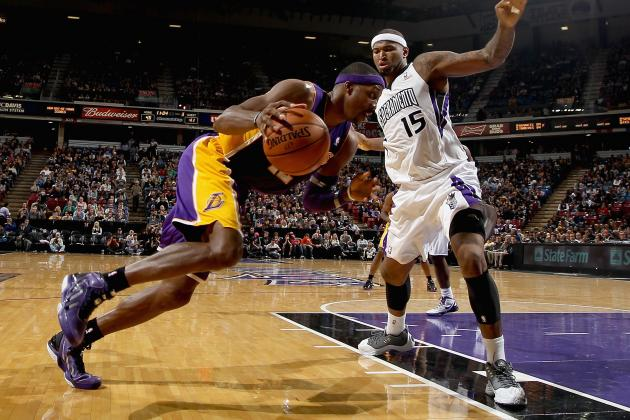 Lakers Beat Kings 103-98
