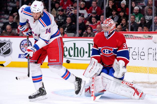 Canadiens' Price Stops 34 Shots to Blank Rangers