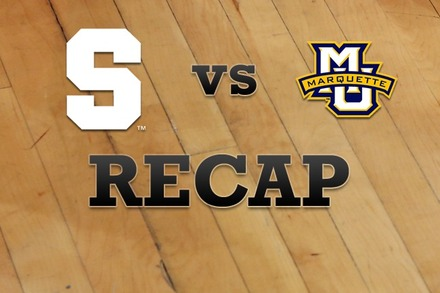 Syracuse vs. Marquette: Recap, Stats, and Box Score