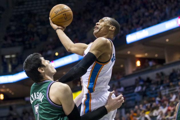 GIF: Westbrook Does Bucks' Ersan Ilyasova Dirty
