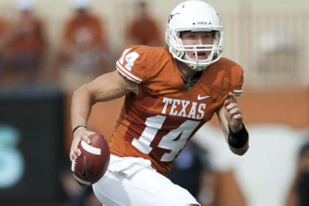 AP News : Ash 2 TDs, 2 INTs in Texas Spring Game