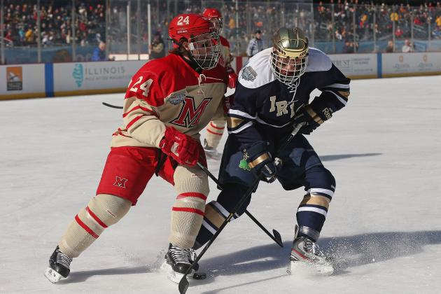 Continuing Upsets Ensure New NCAA Hockey Champion to Be Crowned in 2013