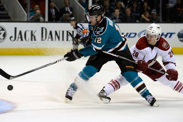 Sharks Win 4th in a Row with Win over Coyotes
