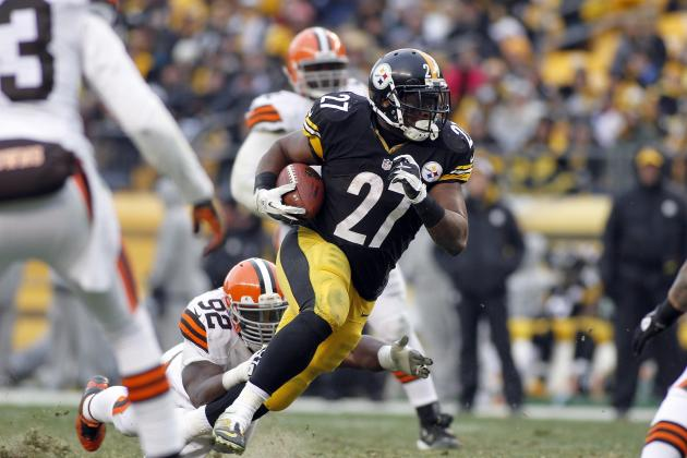 Can Jonathan Dwyer Handle the Workload for Steelers in 2013?