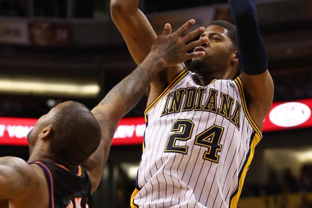 George, Hibbert Power Pacers Past Suns