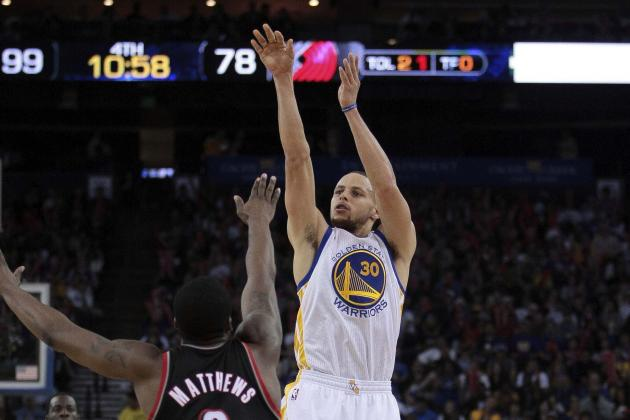 Golden State Warriors Rout Portland Trail Blazers