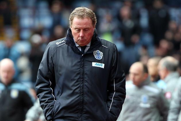 Harry Redknapp Claims He Would Like to Stay at QPR for the Foreseeable Future