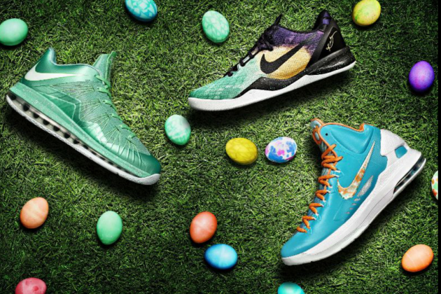 LeBron, Kobe, Durant Get Special Edition Shoes for Easter (PHOTOS)
