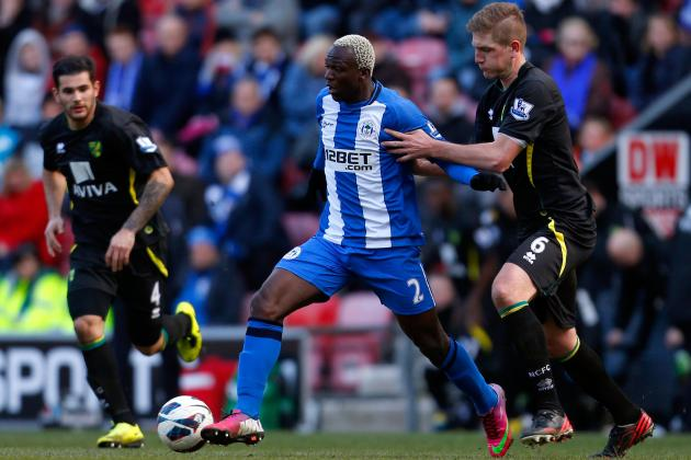 Arouna Koné's Goals Are Crucial to Wigan Athletic's EPL Survival