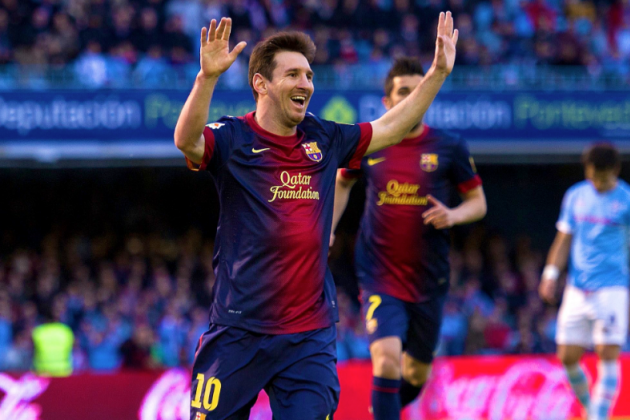Lionel Messi Has Now Scored for Barca Against All Other La Liga Teams, in a Row