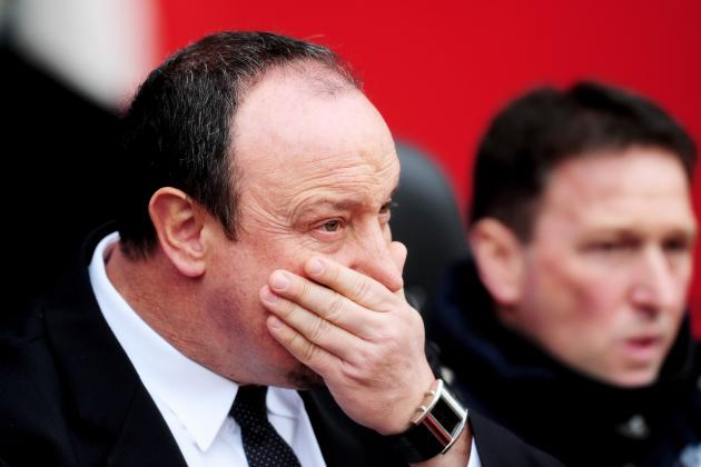 Chelsea Interim Manager Rafa Benitez Disappointed by Southampton Defeat