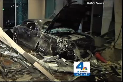 NBAer's Bentley Totaled After Nasty Crash