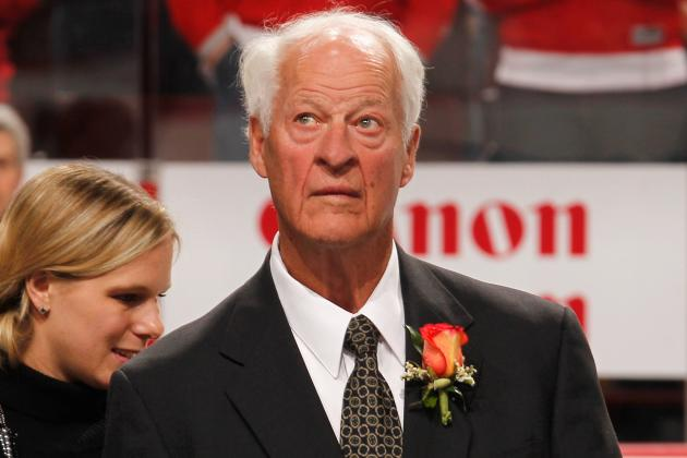 Custance: Howe's 85th Birthday Chance to Celebrate Mr. Hockey