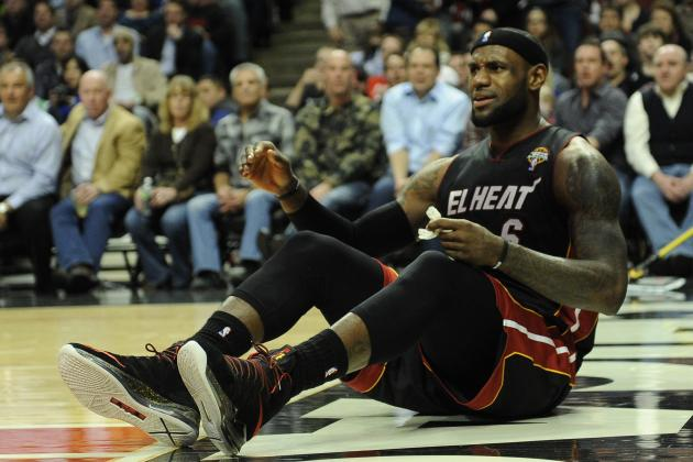 Bulls' Hard Foul on LeBron Upgraded to a Flagrant