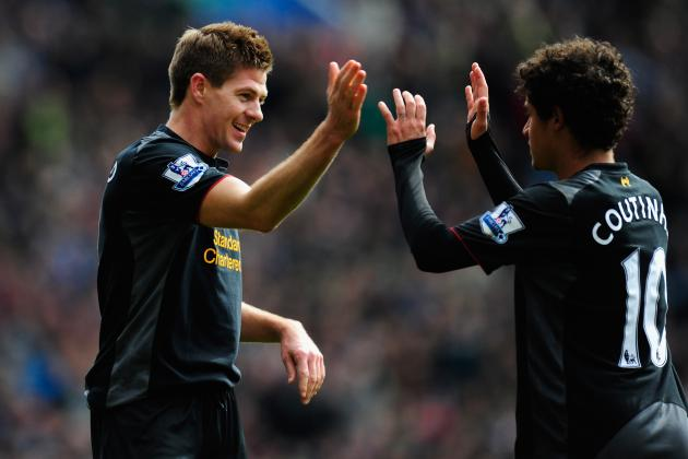 Steven Gerrard Happy to Help out at Both Ends for Liverpool