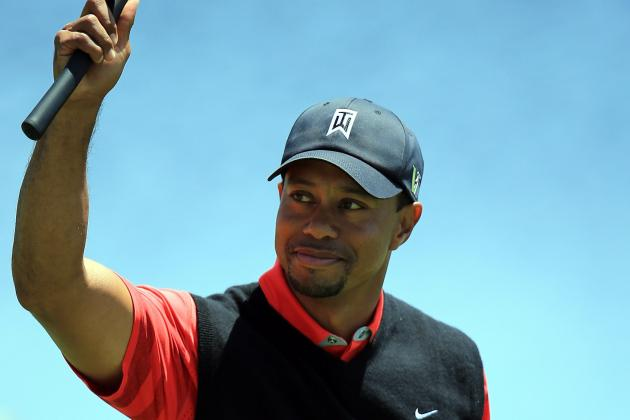 Calm in Tiger Woods' Private Life Has Contributed to Improvement on Course