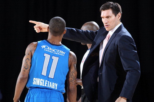 D-League Coach Eduardo Najera Suspended for Too Many Technicals