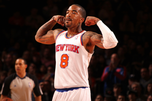 Are New York Knicks Title Contenders with J.R. Smith Playing at Elite Level?