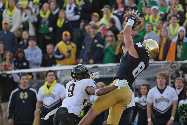 Notre Dame Football: Who Will Fill Tyler Eifert's Shoes?