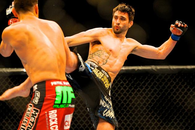 Carlos Condit Picks Georges St-Pierre over Johny Hendricks