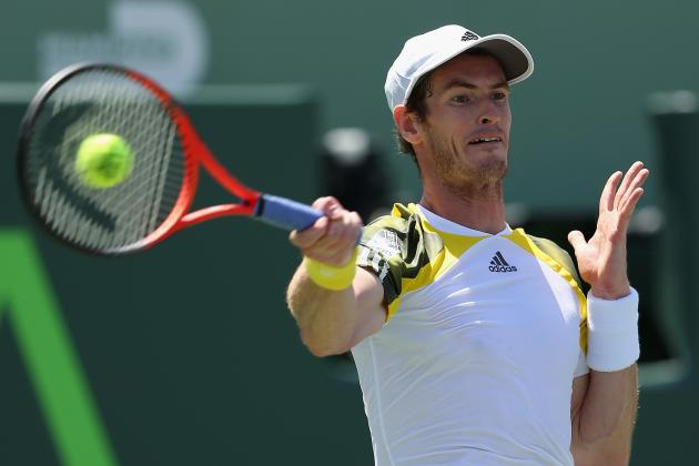 Murray Battles Back to Beat Tough Ferrer in Miami Final