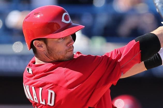 Reds Designate Jason Donald; Outright Jose Arredondo