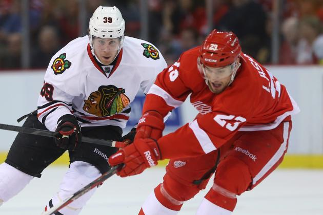 Red Wings Embarrassed by Blackhawks on Howe's BDay