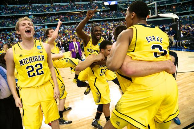 Michigan Dominates Florida to Reach the Final Four