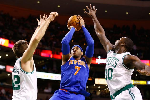 Boston Celtics vs. New York Knicks: Live Blog, Results and Game Highlights