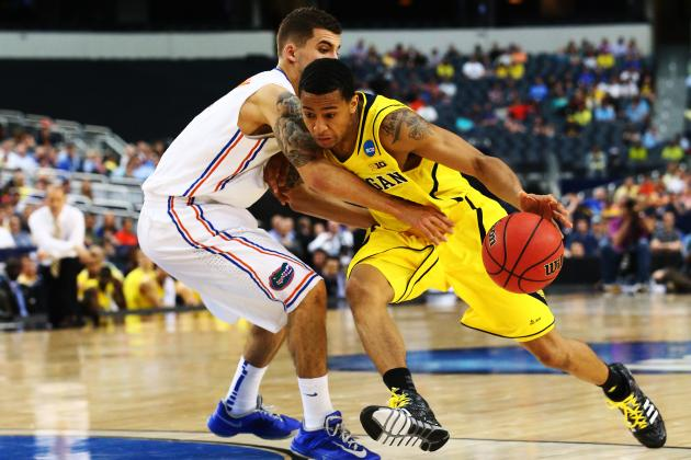 Michigan's Trey Burke Named Most Outstanding Player of South Region
