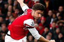 Giroud Backs Arsenal to Turn Up Heat on London Rivals in Race for Top-Four Spot