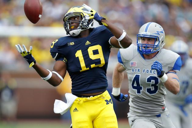 Michigan Football: Predicting Wolverines TE Devin Funchess' 2013 Season