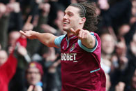 West Ham's Andy Carroll Hopes His Display Attracts England Attention