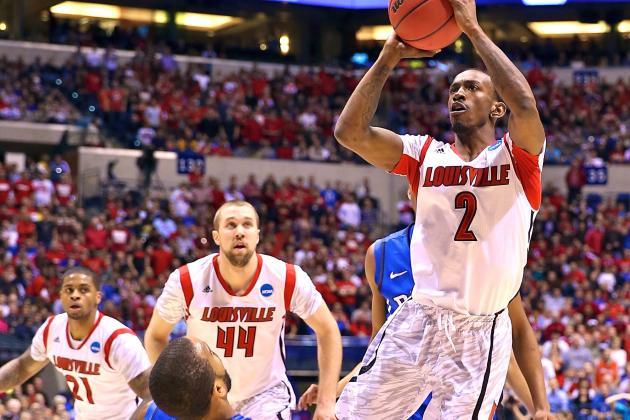 Louisville Presses on After Horrific Injury to Beat Duke, 85-63