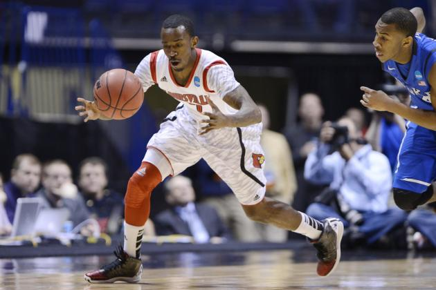 Louisville's Russ Smith Named Most Outstanding Player of Midwest Region