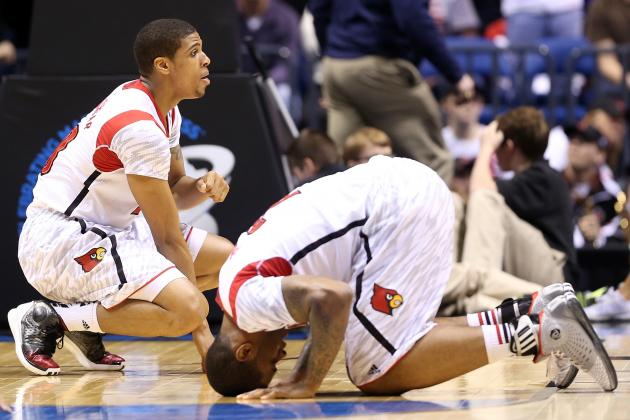 Powerful Photos of Louisville Cardinals' Emotional Reaction to Kevin Ware