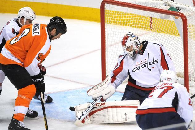 Flyers 5, Capitals 4, OT