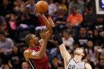 Bosh Lifts Heat to Win Over Spurs Without LeBron, Wade