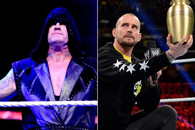WWE: Why CM Punk vs. Undertaker Could End in a Draw at WrestleMania 29