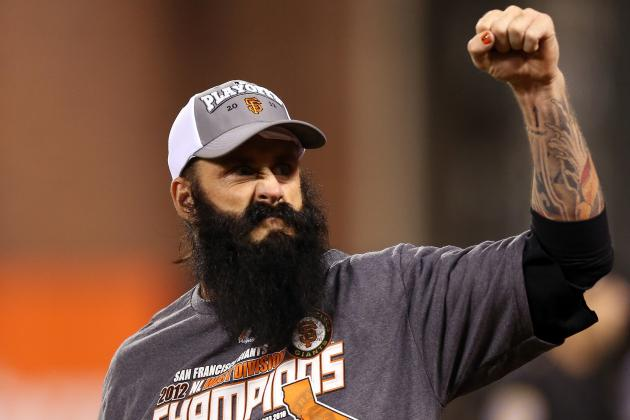 SF Giants Invite Brian Wilson to Ring Ceremony