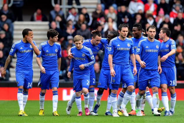 Predicting the Potential Chelsea Starting Lineup for 2013-14